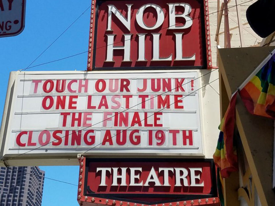 After 50 Years Of Adult Entertainment Nob Hill Theatre To Close This Month