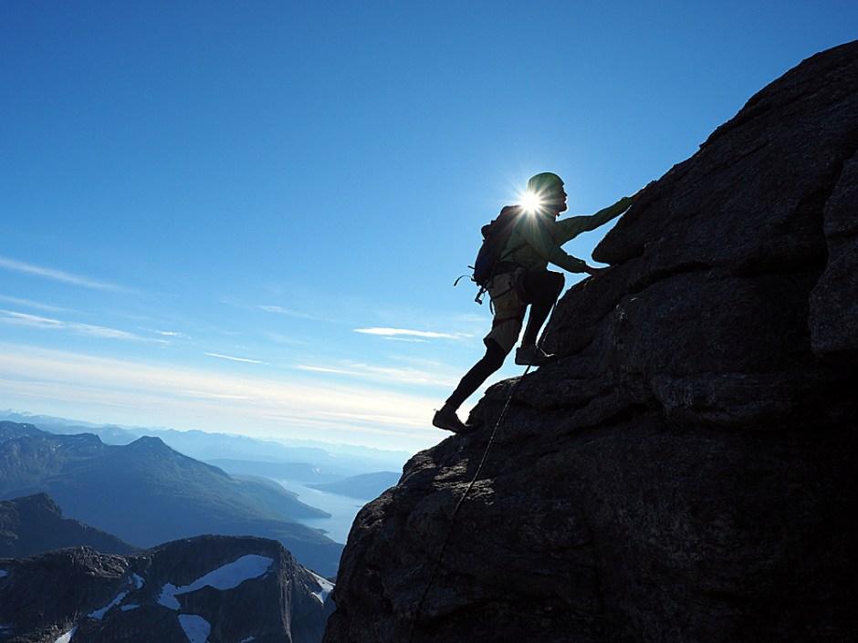 Put Down The Mountain & Climb
