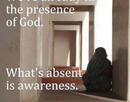 Presence: Something More Than God With Us