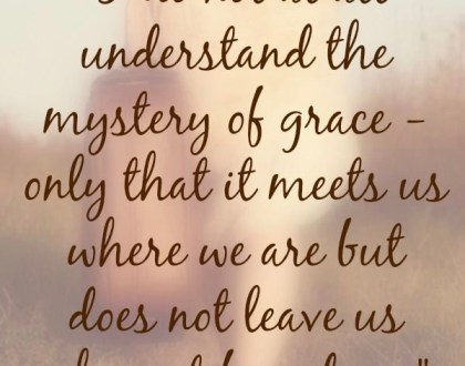 Grace: Something More than Forgiveness