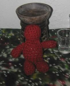 complete crochet doll