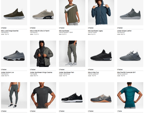 Nike end of season Sale
