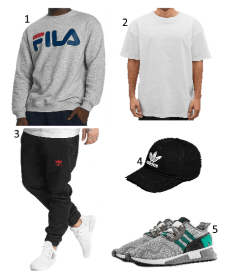Fila Pullover Outfit