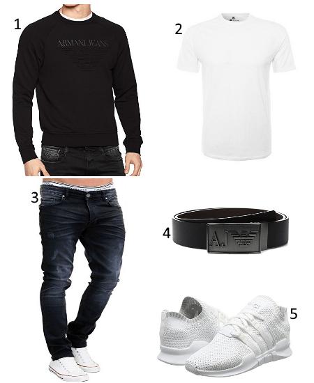 Armani Herren Outfit
