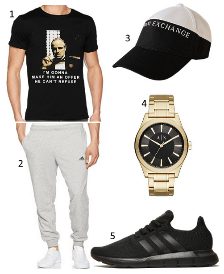 Outfit mit Godfather T-Shirt