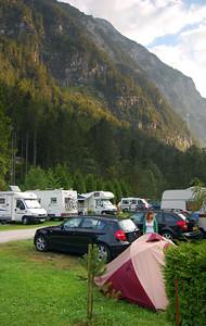 Campsite in Hallstatt, Austria (Click for more images)