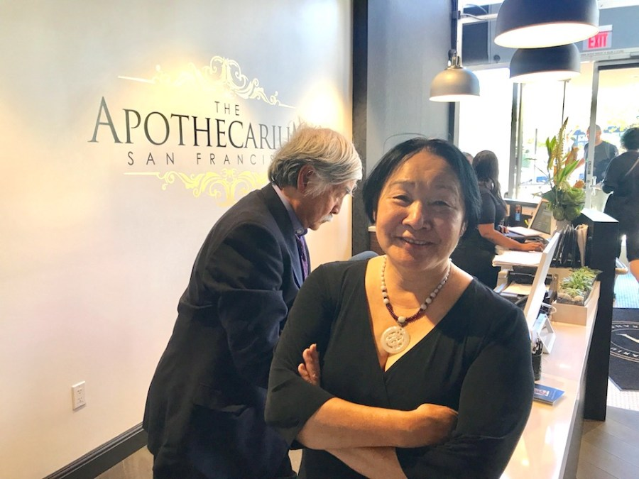 Image result for Jean Quan, husband, given green light to open SF medical pot shop