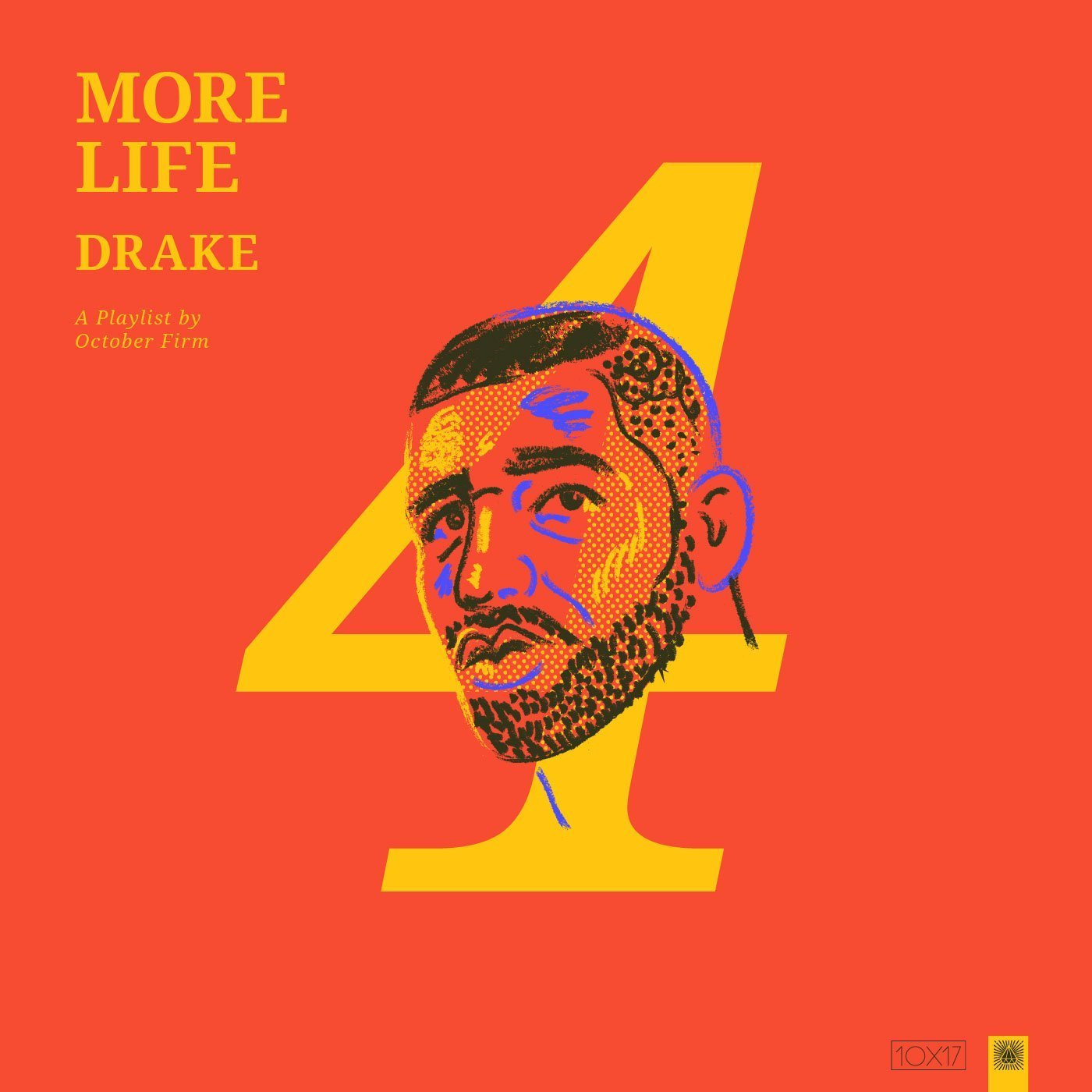 Drake Album Cover Reimagined by Amy Hood - number 4 with Drake's face
