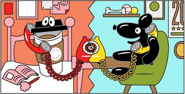 Skip illustrations by Hoodzpah illustration agency