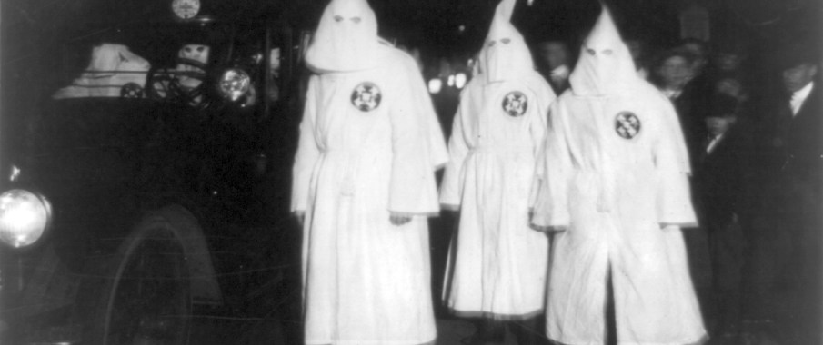 Even back in 1922 the KKK still refused to adhere to social, fashion norms.