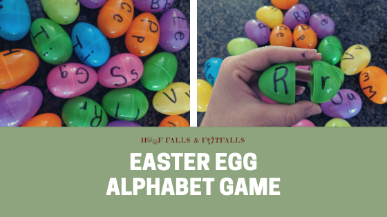 Easter Egg Letter & Spelling Game