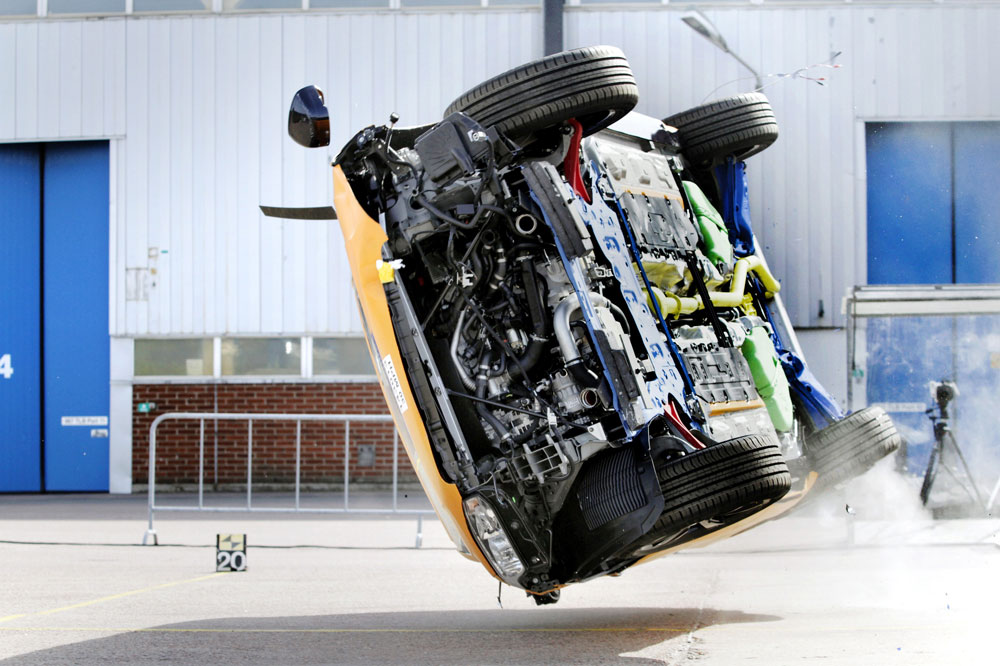The All New Volvo Xc90 Rollover Crash Test
