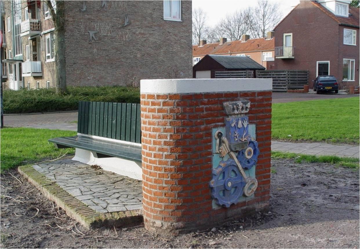 9_Herinneringsbank_aan_de_Reddingiusweg_t.g.v._de_opening_van_Plan_Zuid_9