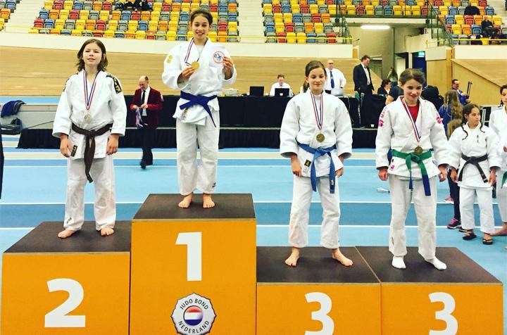 Melany-Rossen wint met judo