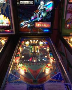Thats some scoring! pinball videogames arcade