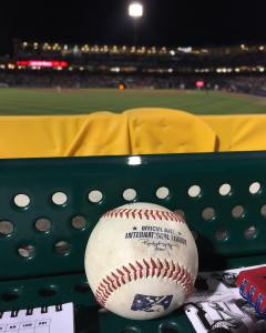 Good karma pays off Sitting in front of bullpens Onehellip
