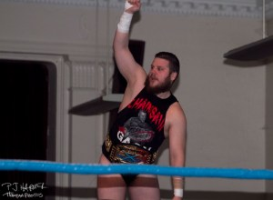 Joe Gacy was standing in IB Green's way in the quest for the title.