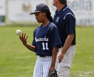 Despite being in the spotlight for the better part of a year, Mo'ne Davis seemingly stays grounded.