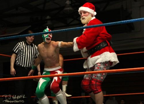 Santa in control!
