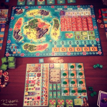 Board gaming is becoming quite the hobby and the games are well beyond what many of us knew as kids.