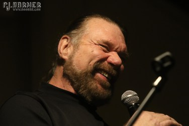 Hacksaw Jim Duggan laughs as he talks about his career at his one-man show in Binghamton.