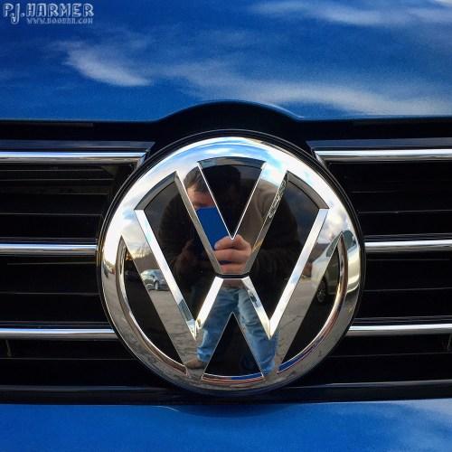 VW selfie.