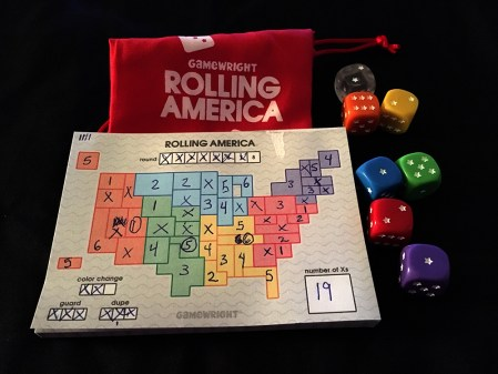 Rolling America takes a little luck and thinking.