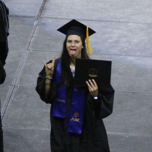 nicoleharmer6 is a college graduate! sunybroomealum graduation