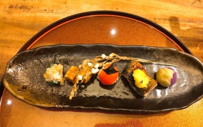 Zensai, the appetiser platter