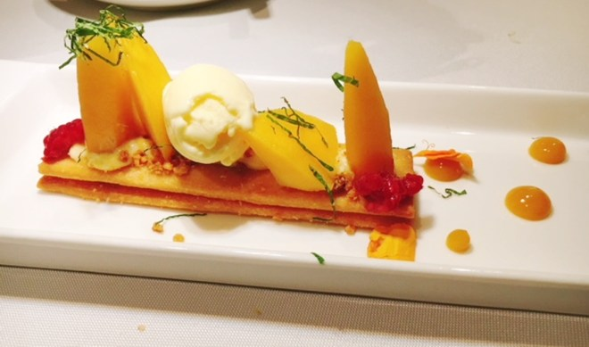 Sable of Mango, Lime Curd