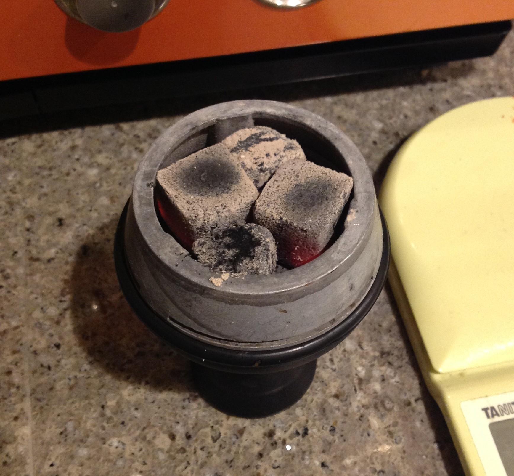 Silikon Hookah Bowl standard 火の調節
