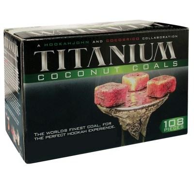 炭のレビュー / Titanium Coconut Coals