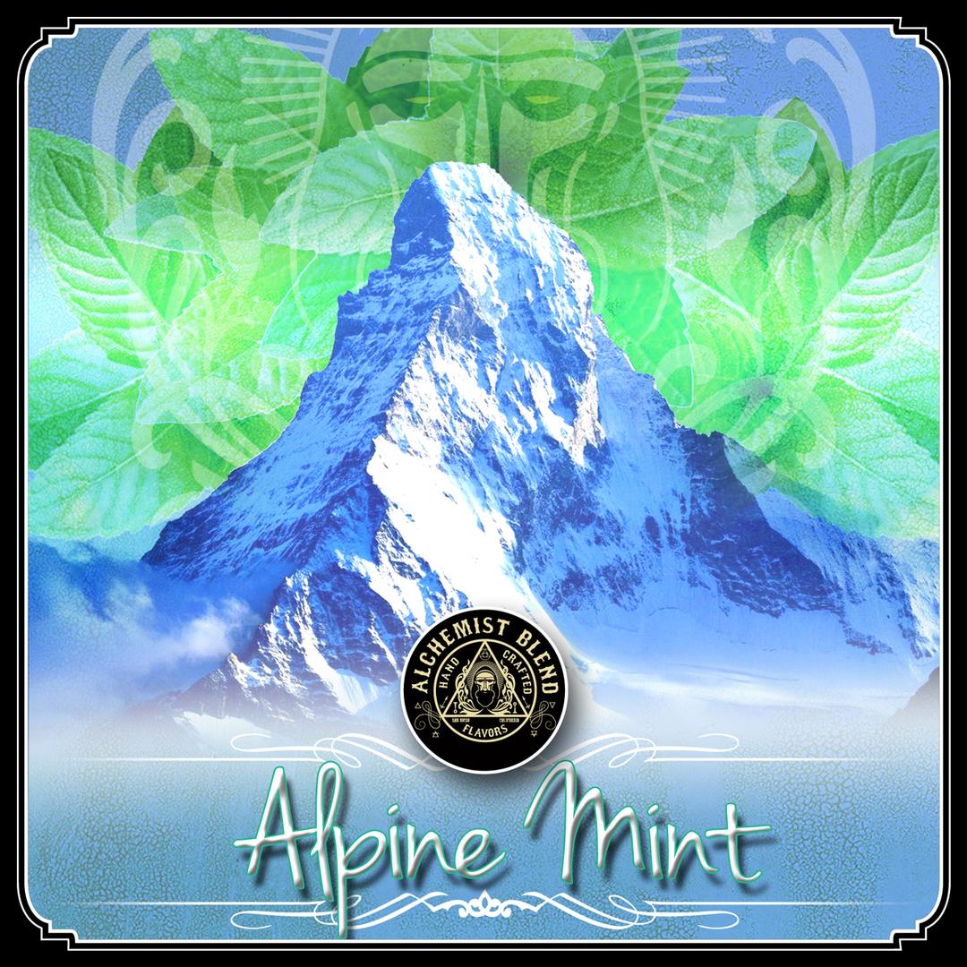 Alchemist Blend / Alpine Mint(クリアで強い清涼感が特徴のミント)