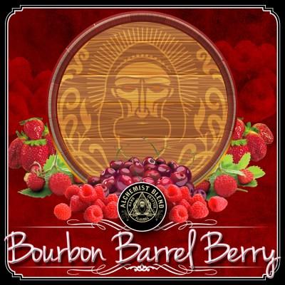 Alchemist Blend / Bourbon Barrel Berry(微かなフローラル系の香りが特徴、サッパリめだが奥行きのあるラズベリーMix)