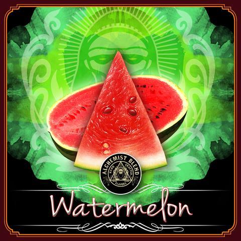 Alchemist Blend Straight / Watermelon(スイカらしくサッパリまとまっているが、やや煙の質が気になる)