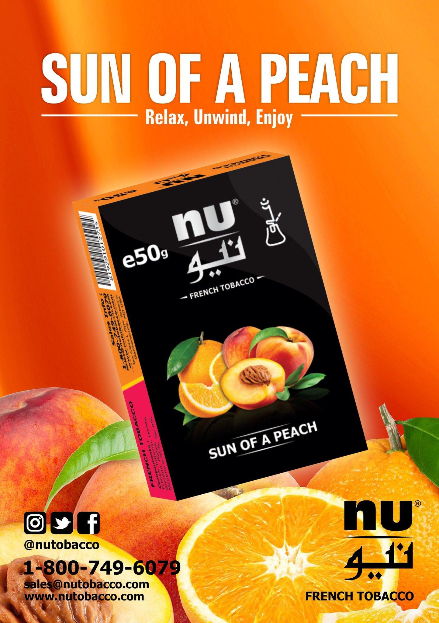 Nu Hookah / Sun of a Peach(Orange系:Peach系=3:1ぐらいのMix)