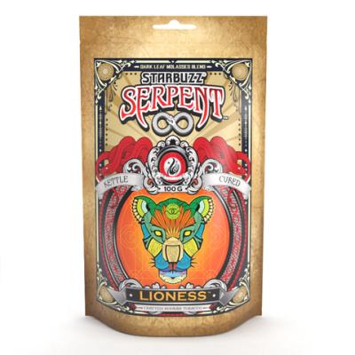 StarBuzz Serpent / Lioness(煙を吐き終えた後の余韻が優秀なPineapple系、ダークリーフの香りは強め)