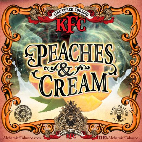 Alchemist KFC / Peaches & Cream(白桃味のハイチュウのような香り、美味しい)