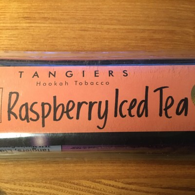Tangiers Noir / Raspberry Iced Tea(意識して吸わないと何の香りか分かりづらい)