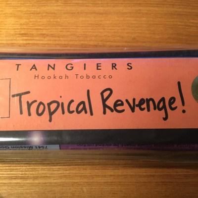 Tangiers Noir / Tropical Revenge !(Orange系の香りと、Peach系に近いマッタリしたフルーツ系のMix)