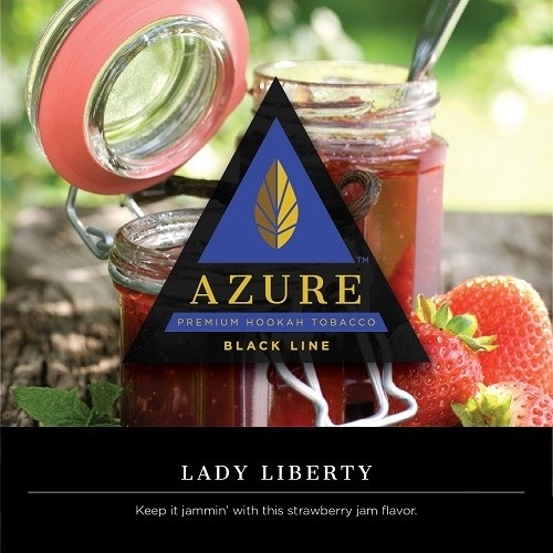Azure Black / Lady Liberty(Cream系に似たテイストが特徴のStrawberry系、AF GoldenのStrawberryと似ている)