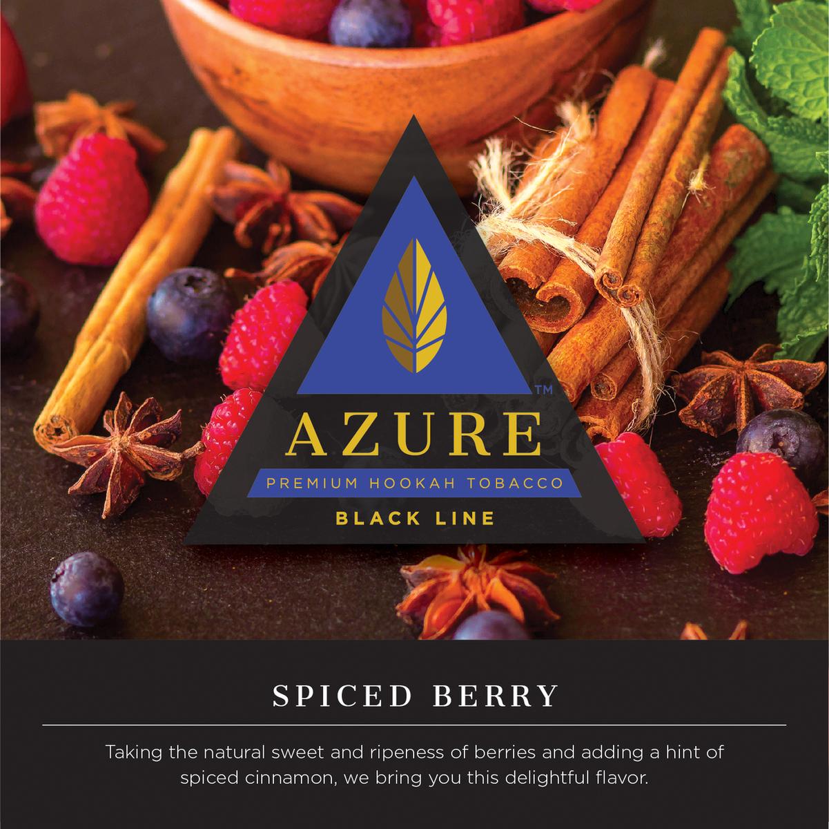 Azure Black / Spiced Berry(Raspberry系とCinnamon系のMix、余韻の微かな八角やアニスの香りが特徴)