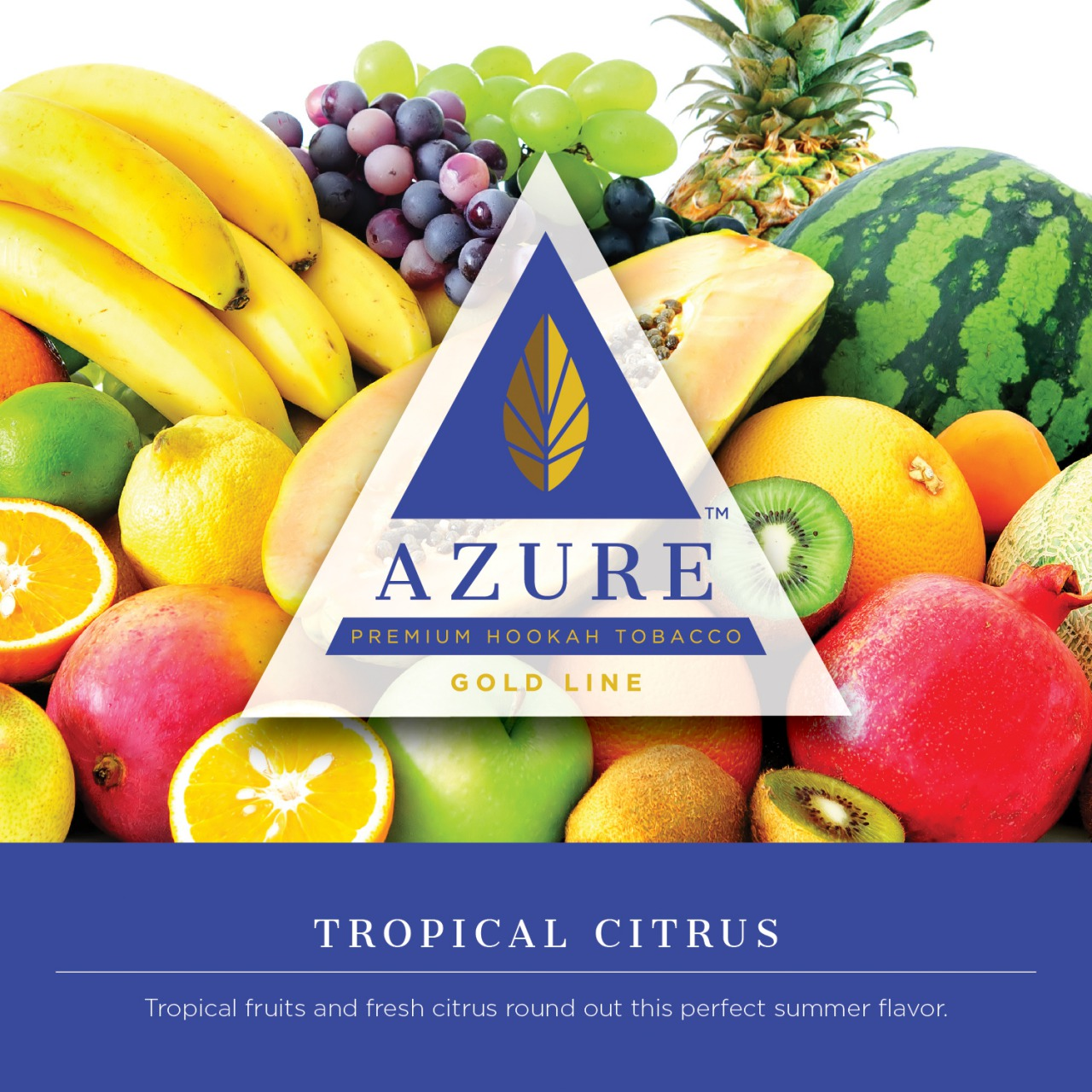 Azure Gold / Tropical Citrus(Melon系:Lemon系=5:2ぐらいのMix、Lemon系の酸味が絶妙なアクセント)