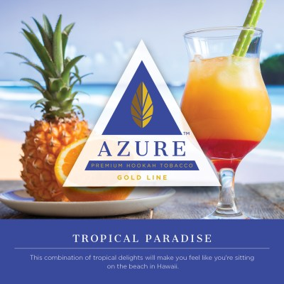 Azure Gold / Tropical Paradise(Pineapple系:何かのフルーツっぽい香り:Coconut系=1:1:1ぐらいのMix)