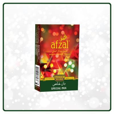 Afzal / Special Pan(Pan Razna系の香りとそこそこの清涼感、後味のレモングラスのような香りが少し強め)