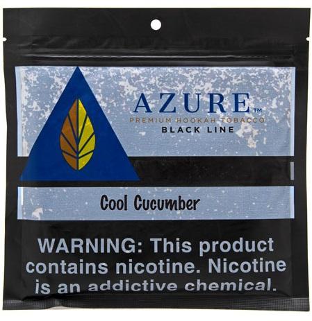 Azure Black / Cool Cucumber(ホンノリした甘さはあるが、それが去った後の余韻は結構キュウリ)