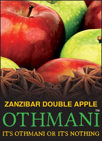 Nirvana Othmani / Zanzibar Double Apple(リコリスあるいはアニスの独特なキレ感が少し強めで、スッキリした甘さのDouble Apple系)