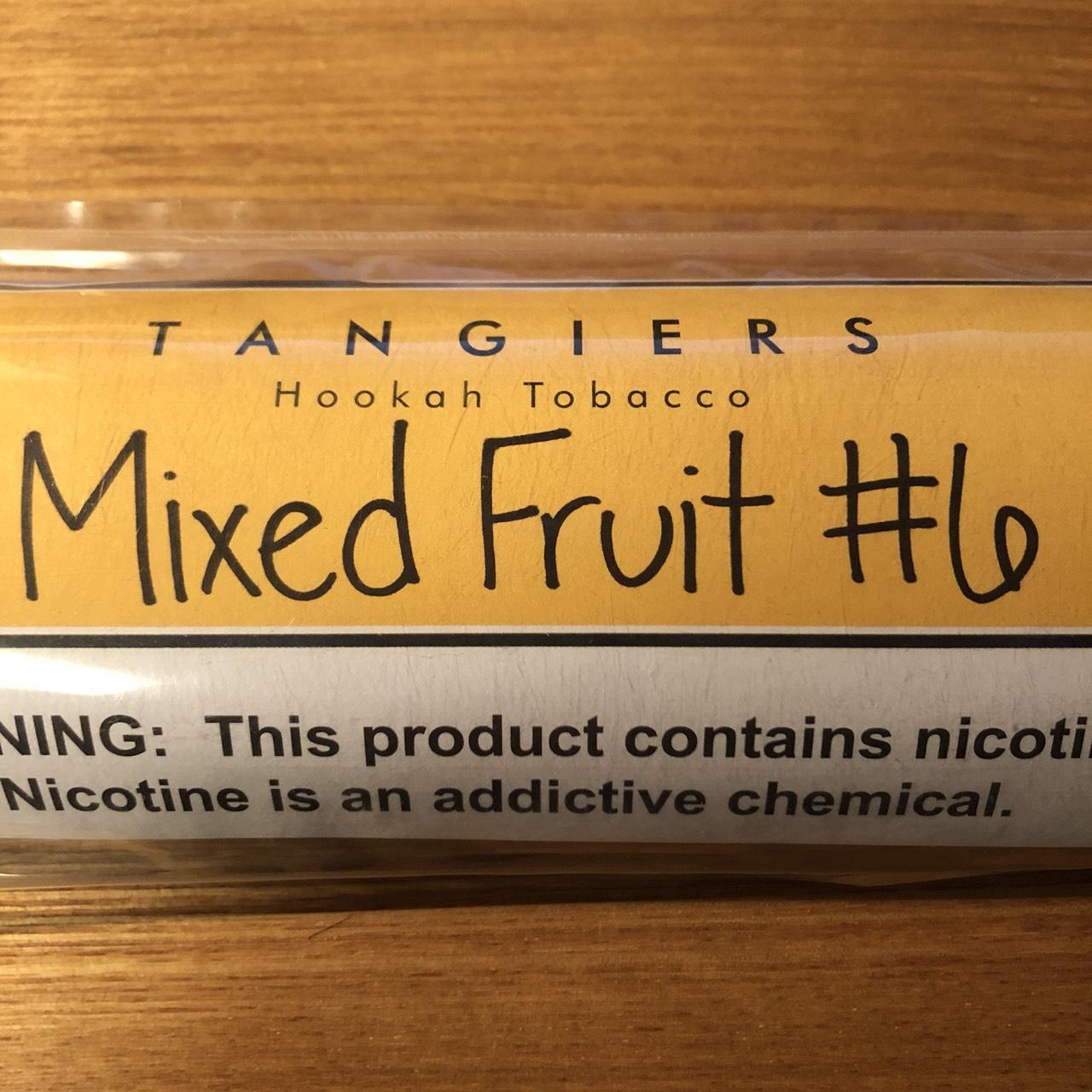 Tangiers Noir / Mixed Fruit #6(スッキリしたGrapefruit系に、トロピカルフルーツっぽい香りが少々)