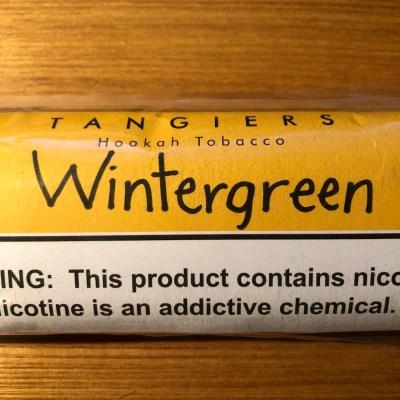 Tangiers Noir / Wintergreen(湿布の香りにVanilla系の香りが少々、ルートビアと思えば再現度は高め)