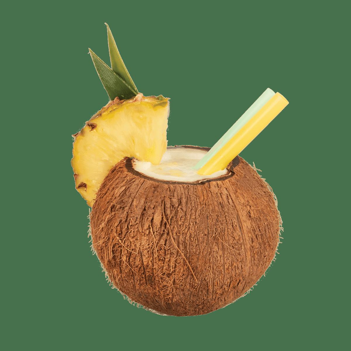 Fumari / Caribbean Colada(パインココナッツミルクシェイクみたいな商品名でも通じそうな香り)